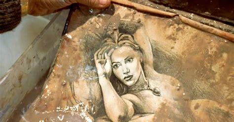 film titanic lukisan kate winslet drawing scene celebrity couplescelebrity