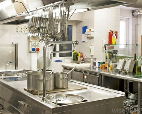 simple kitchen equipment interior design