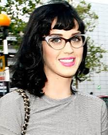 katy perry in large cat eye frames the