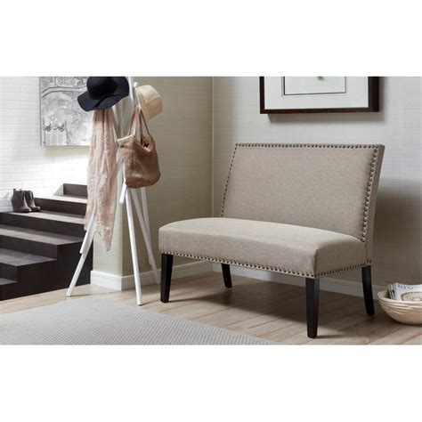 Gray Banquette by Pri Banquette Gray Bench Ds 2183 400 2 The Home Depot