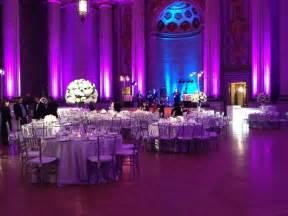 Purple Silver Decorations Purple White And Silver Wedding Reception Purple And