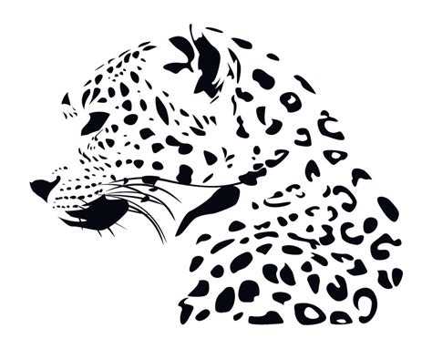 leopard vector by thehalfinger on deviantart