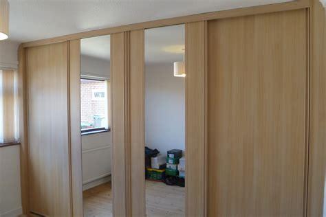 Built In Wooden Wardrobes wood effect wardrobe designs nottingham sliding doors wardrobes