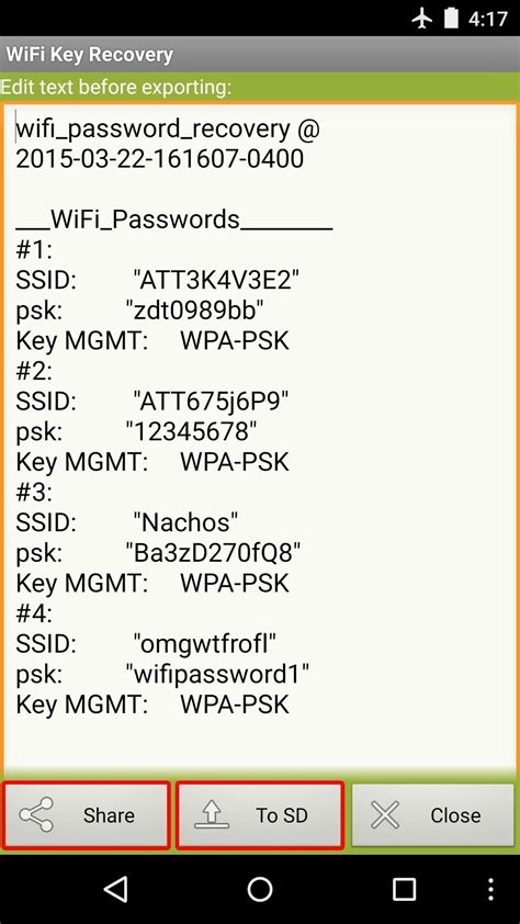 view wifi password android how to see passwords for wi fi networks you ve connected your android device to 171 android