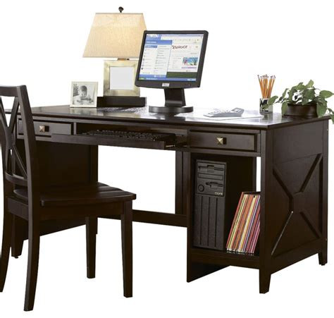 homelegance britanica 60 inch writing desk in espresso