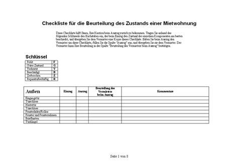 Checkliste Mietwohnung by Listen Office
