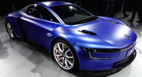 volkswagen xl1 sport vw reveals 267kph ducati engined xl sport concept at paris