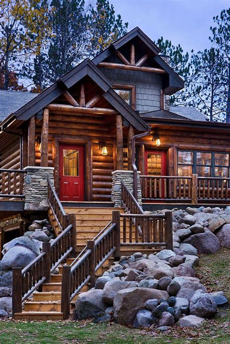 Mountain Home Cabins by Best 25 Log Homes Exterior Ideas On Log Homes Cabin And Home