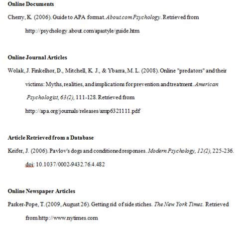 Resume Reference Page Guidelines by Apa Format Exles Tips And Guidelines Apa Format