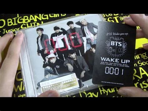 download mp3 bts wake up album ray s bts wake up japanese album unboxing youtube