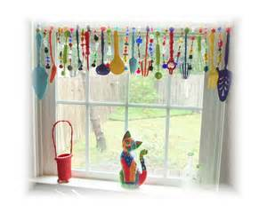 Country Valances Windows Super Kitchy Colorful Whimsical Kitchen Window Treatment