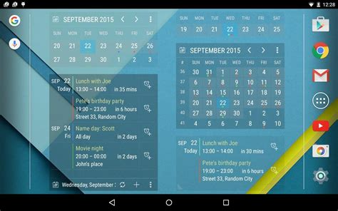 Calendar Widgets For Android Calendar Widget Month Agenda Android Apps On Play