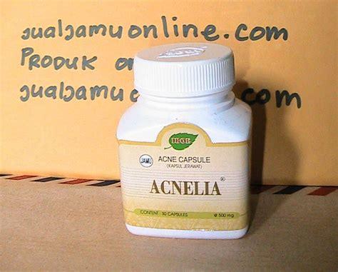 kapsul penghilang jerawat acnelia obat jerawat batu