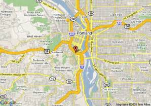 map of travelodge portland portland