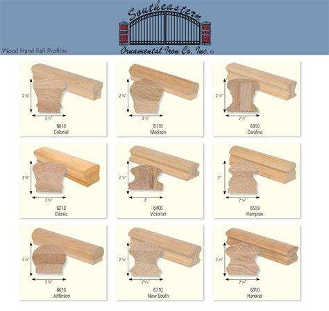 Stair Handrail Profiles Stair Rails