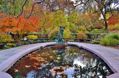 Central Garden City by Autumn In Central Park New York City Central Park New