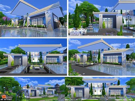 the sims 4 40x30 modern house floor plans autaki s sirintra modern design