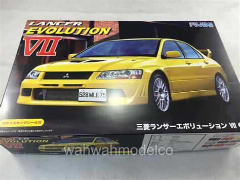 Fujimi 124 Lancer Evolution V Gsr fujimi 039206 124 id 179 mitsubishi lancer evolution vii gsr
