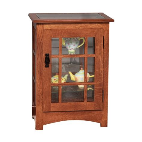 mission console table mission console end table curio country furniture