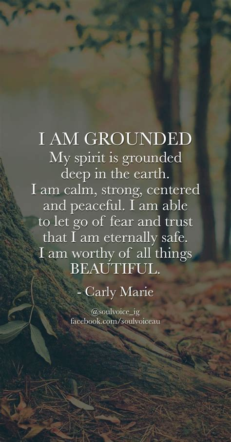 yoga quotes   grounded  spirit  grounded deep