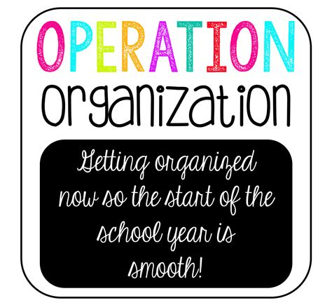 help getting organized get organized with organizational the teaching sweet shoppe operation organization