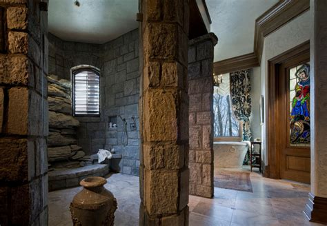 bathrooms in castles gothic castle in the blue ridge mountains eclectic