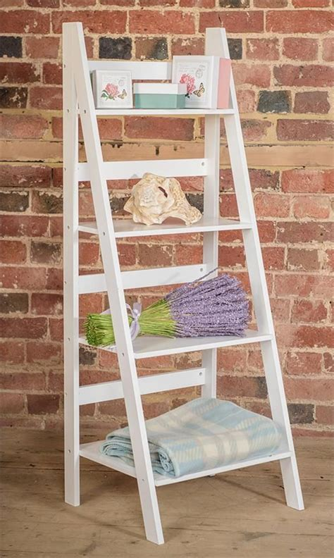 ladder book shelf  tier bookcase stand  standing