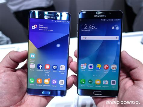 samsung galaxy note 7 vs note 4 what s the difference and should i upgrade samsung galaxy note 7 vs note 5 should you upgrade android central