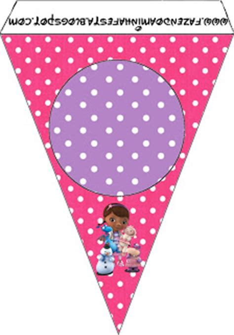 doc mcstuffins free printable birthday banner doc mcstuffins free party printables oh my fiesta in