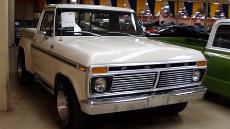 imagenes pick up ford 1977 1977 ford f100 stepside pick up youtube