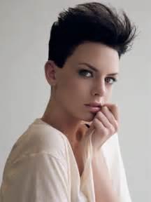 short hair women images