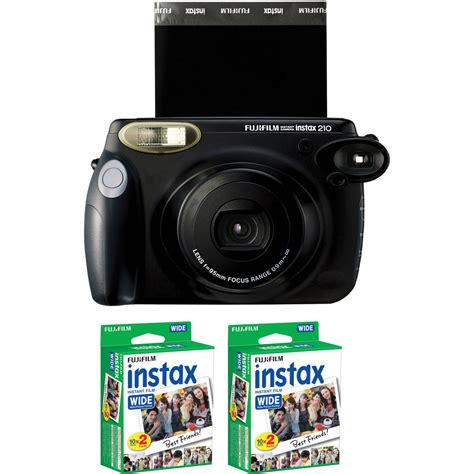 fuji 210 wide instant fujifilm instax 210 instant with two instax