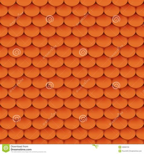roof pattern vector clay roof tiles stock vector image 49908795