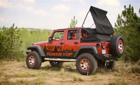 turn your jk jeep wrangler into a soft top convertible