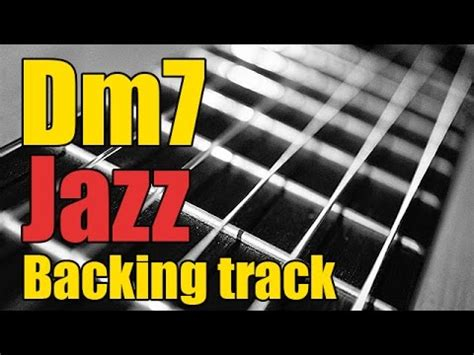 swing backing track guitar jazz backing track in dm7 minor play along part 1 2
