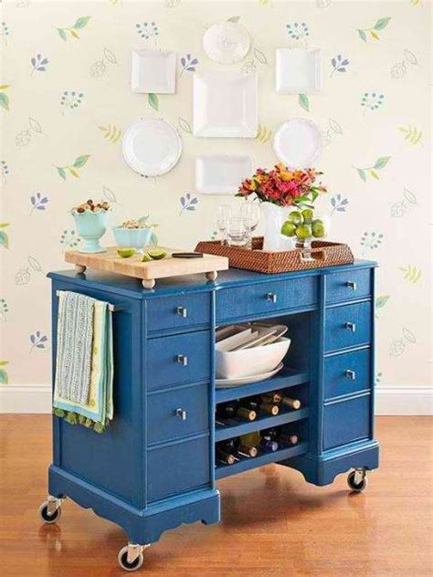 Best Way To Repaint Kitchen Cabinets by Turn Your Old Cabinet To A Portable Bar