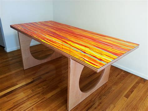 portable dining room table custom portable dining room table by of all mediums
