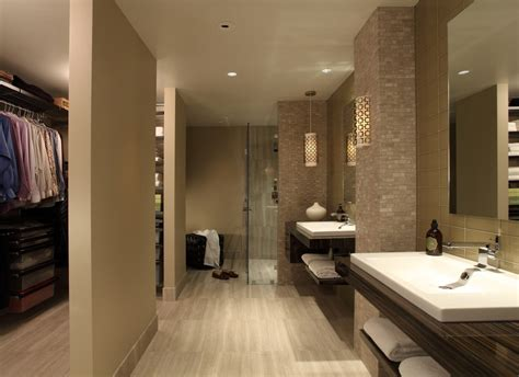 bathroom with walk in closet designs master bath walk in closet bathroom contemporary with wall