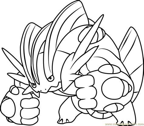 coloring pictures of mega pokemon mega swert pokemon coloring page free pok 233 mon