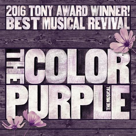 color purple musical the color purple blumenthal performing arts