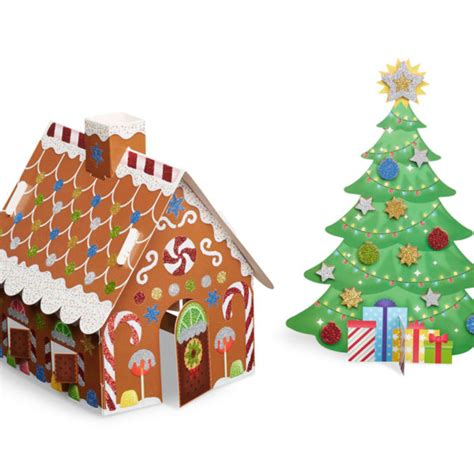 christmas tree gingerbread house dutch country general