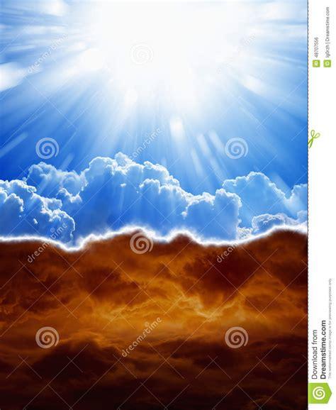 cielo e infierno 8415570120 cielo e infierno foto de archivo imagen de santo armageddon 48707556