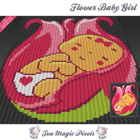 pattern magic 3 english pdf free download flower baby girl c2c graph crochet pattern twomagicpixels