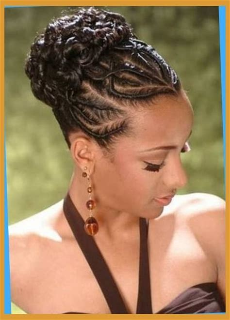 weave updo hairstyles for african americans incredible african american braids updo with regard to