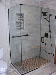 customized shower doors ford metro glass custom glass shower enclosure and