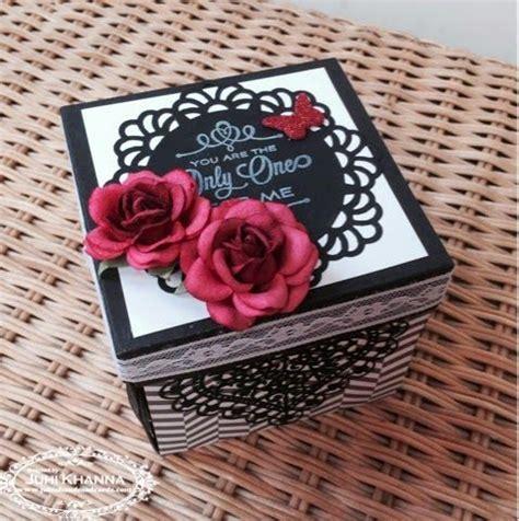 explosion box anniversary tutorial anniversary box mini album cerca con google explosion