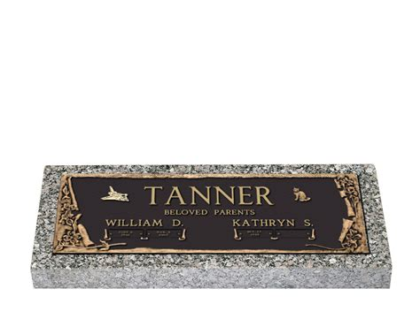 Flat Grave Markers With Vase by Granite Flat Markers With Vase Pictures To Pin On