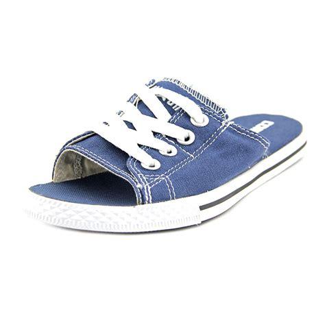 converse ct cutaway evo slip womens size 5 blue canvas