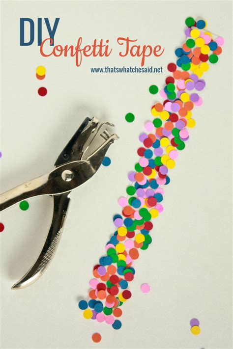 Thirty Handmade Days - diy confetti thirty handmade days