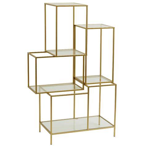 open shelving unit gold open shelving unit audenza